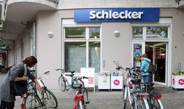 Schlecker store in Berlin, 8 Jun 2012