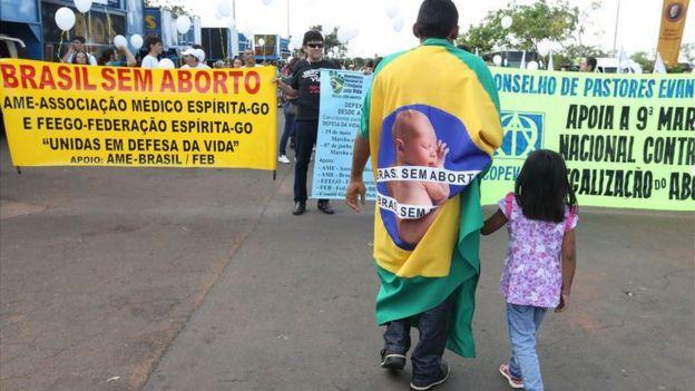 Marcha em Brasília pela Vida e contra o aborto