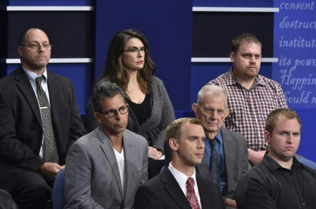 El formato de este debate incluía preguntas del público presente en la sala.