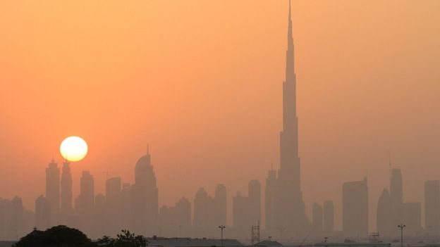 A view of the skyline in Dubai, where foreigners can face unexpected legal trouble