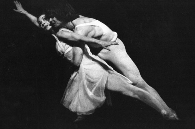 Rodolfo Nureyev con Margot Fonteyn