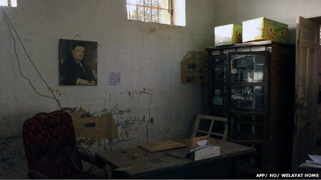 """""""All dormitories had windows covered with barbed wire in ..."""