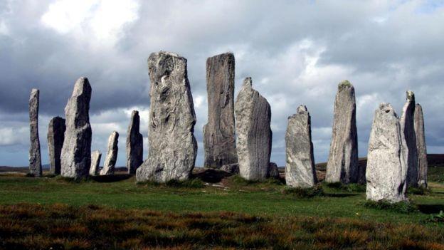 Каменный круг Калланиш был построен пять тысяч лет назад