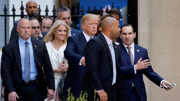 Kellyanne Conway, Donald Trump