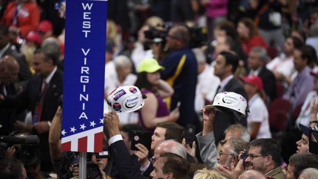 El estado de Virginia Occidental votó por Donald Trump en la elección presidencial, con 68,7% de apoyo.