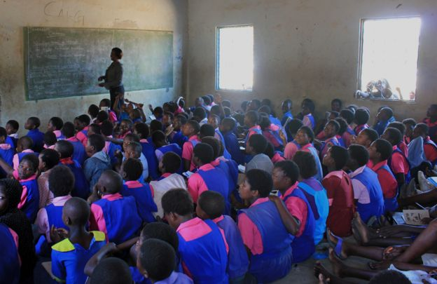 Classroom in Blantyre