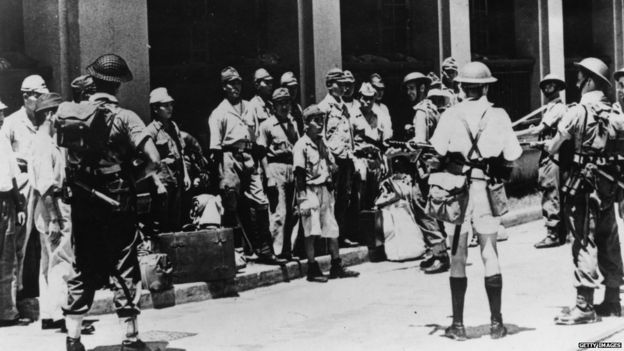 an analysis of the occupation of japan during the world war two Japan resumed its imperial march in 1931 with the occupation of manchuria and the establishment of the puppet state of manchukuo in 1937, the japanese invaded china, seizing shanghai and nanking that, along with the anti-comintern pact signed in 1936 between germany and japan, alarmed the soviet union.