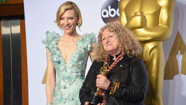 Cate Blanchett and Jenny Beavan