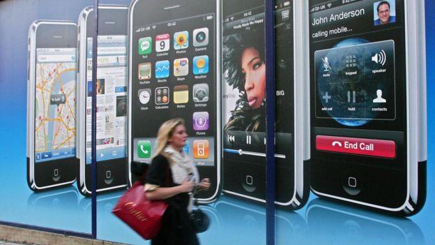 iPhone en 2007