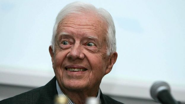 Expresidente Jimmy Carter