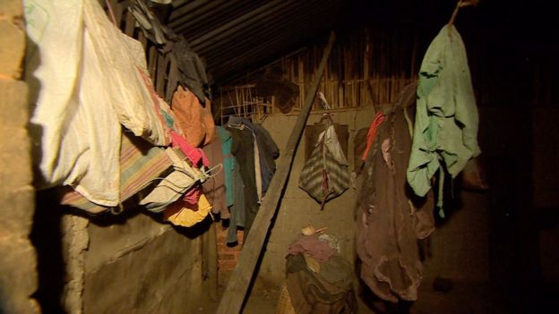 The living conditions inside worker's homes are abysmal. with no repairs undertaken for years