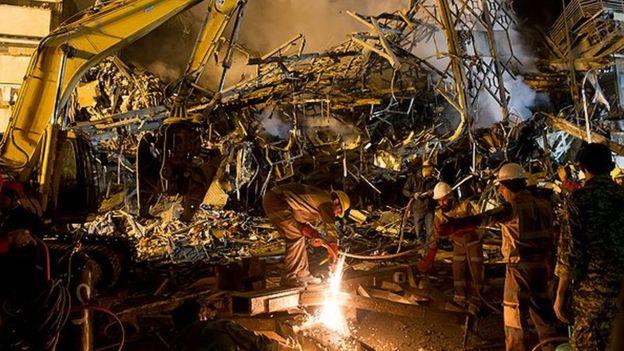 آتش سوزی ساختمان پلاسکو