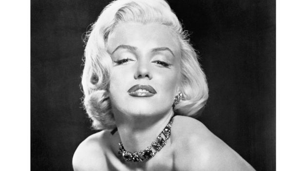 Marilyn Monroe en blanco y negro