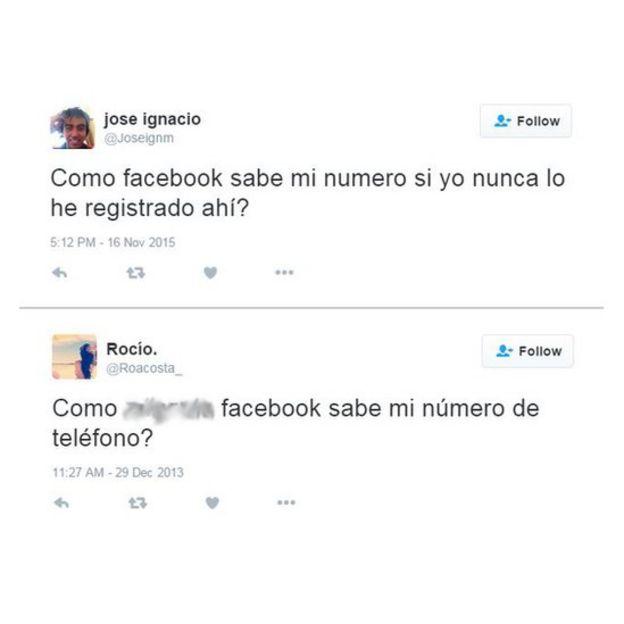 Reacciones en twitter de sorpresa sobre la publicación de su número telefónico