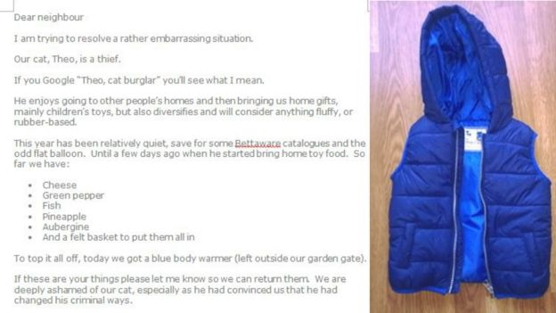 Text of flyer and blue body warmer