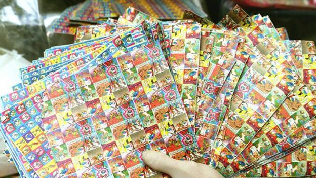LSD tablets