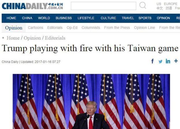 Portada de China Daily