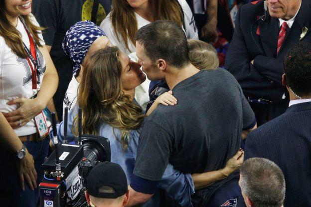 Tom Brady y Gisele Bundchen.