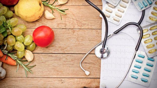 Dieta e pílulas