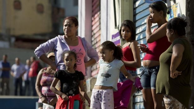 Residents across street from a bar where 10 people were killed in Osasco