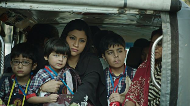 Actress Konkona Sen Sharma in a still from the film