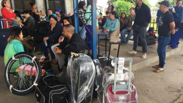Abrigo criado para atender imigrantes