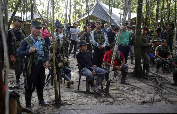 FARC gerillaları, Putumayo, Kolombiya