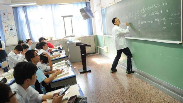 A China tem um sistema complexo de avaliação de professores