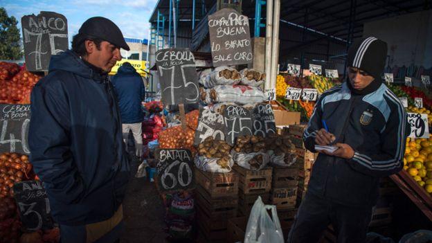 Mercado central de Buenos Aires