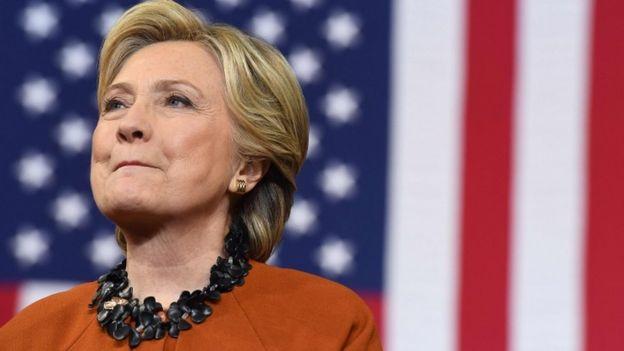 La candidata demócrata a la presidencia de Estados Unidos, Hillary Clinton.