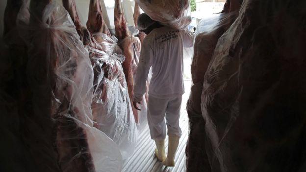 carne no Brasil