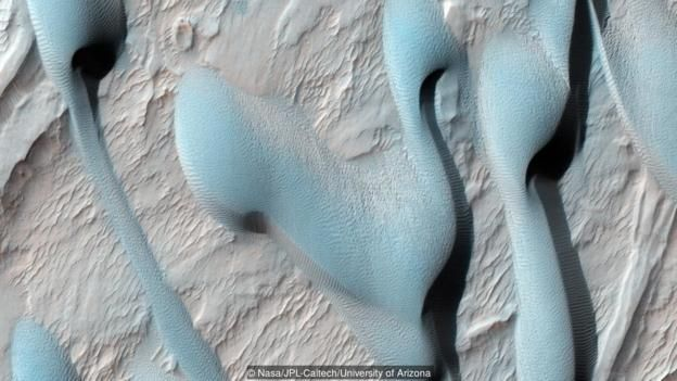 mars kum tepeleri