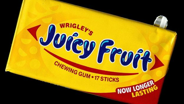 Goma de mascar Joicy Fruit de Wringley's