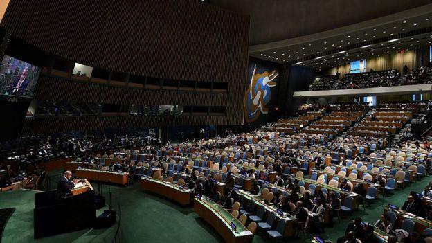 聯合國大會會議(22/9/2016)