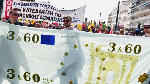 Euro en Grecia