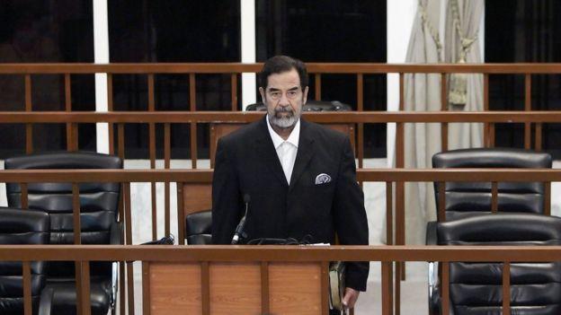 Саддам Хусейн в суде