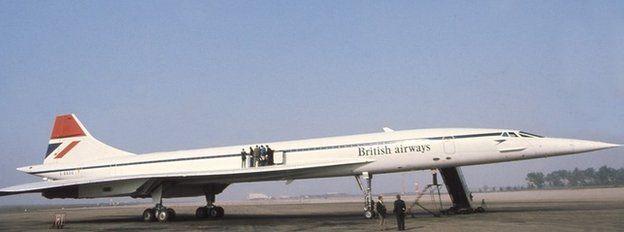 Concorde in 1976