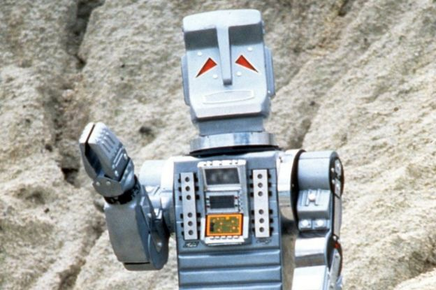 The Hitch-Hikers Guide to the Galaxy: Picture shows David Learner as Marvin the paranoid android