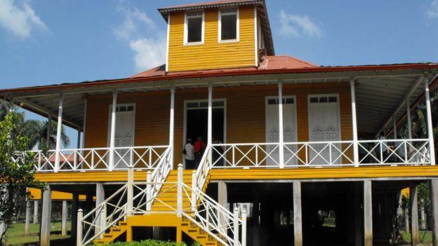 Castro'nun büyüdüğü ev