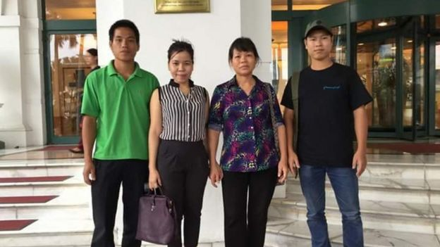 UN meeting with vietnamese activists