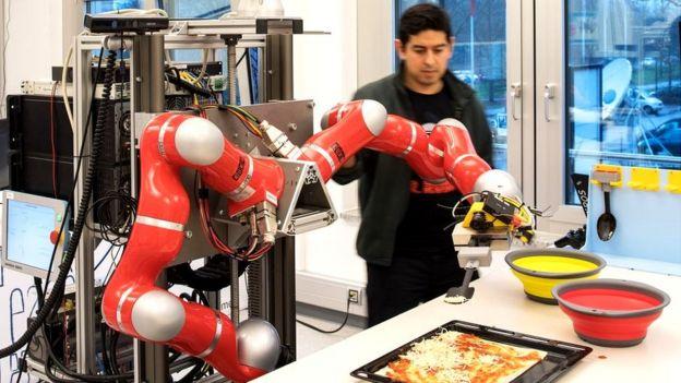 Investigación robótica