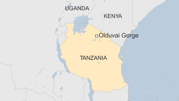 Eneo la Laetoli hupatikana kilomita 40 kutoka Olduvai Gorge