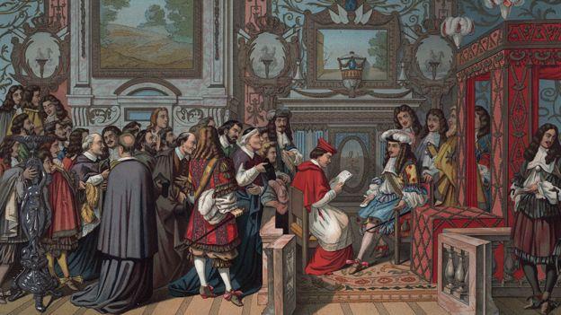 En la corte del rey