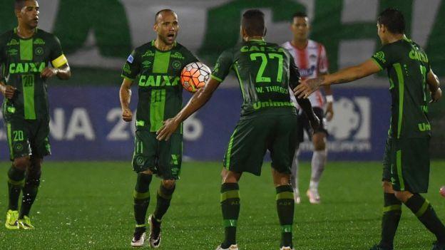 Timu hiyo ilipangiwa kucheza mechi ya awamu ya kwanza ya fainali ya Copa Sudamericana