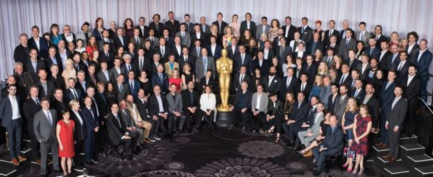 Oscars luncheon class photo