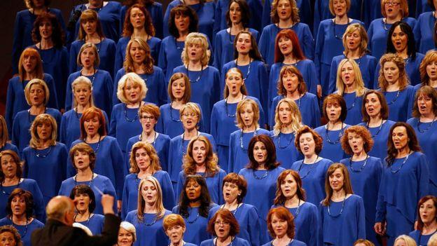 El coro mormón The Mormon Tabernacle