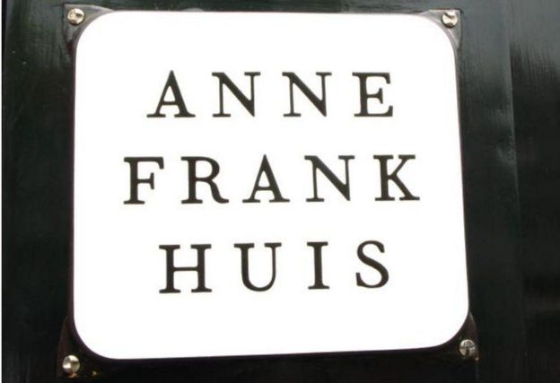 Fachada do Museu Anne Frank em Amsterdã