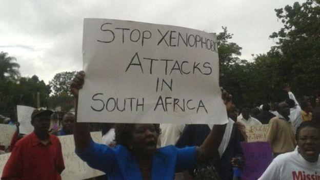 Selon Marc Gbaffou, le président de l'organisation de l'association de défense des migrants vivant en Afrique du sud une marche contre les migrants est prévue le 24 février prochain à Johannesburg