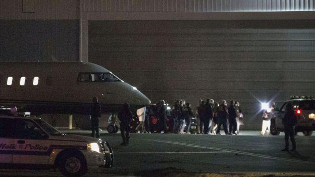 Guzmán Loera llegó en la noche de este jueves a Nueva York.