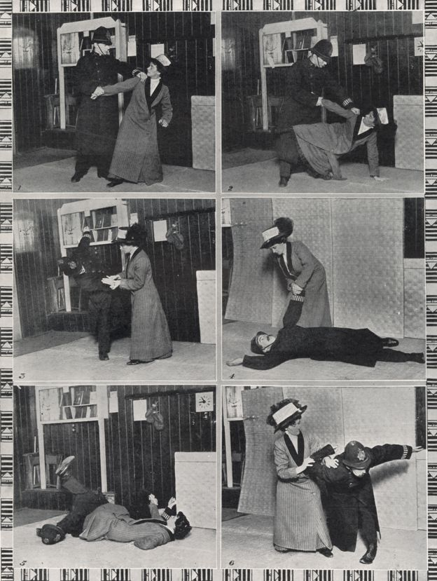 A suffragette's guide to self-defense